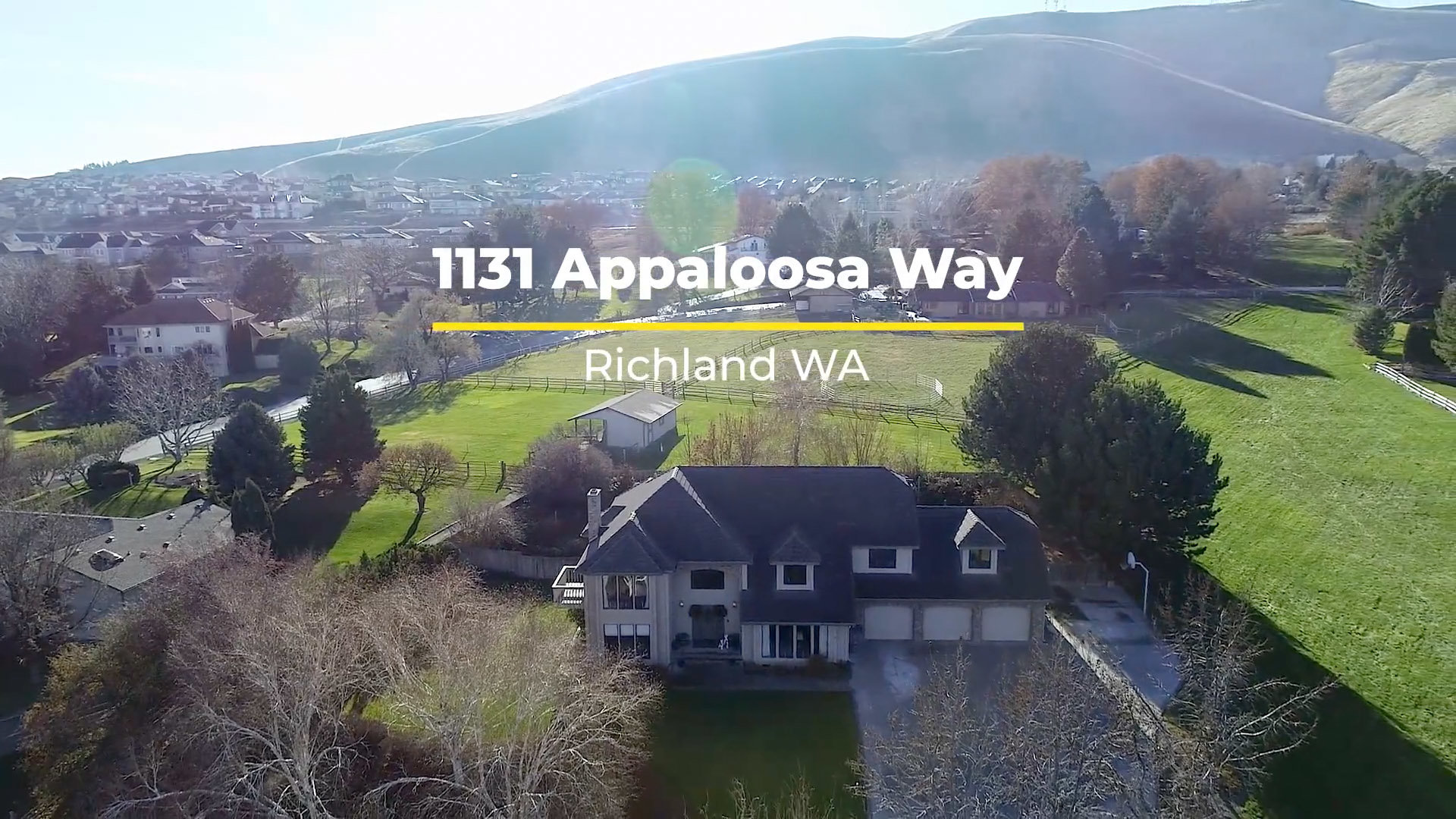 1131 Appaloosa Way - Richland Homes for Sale