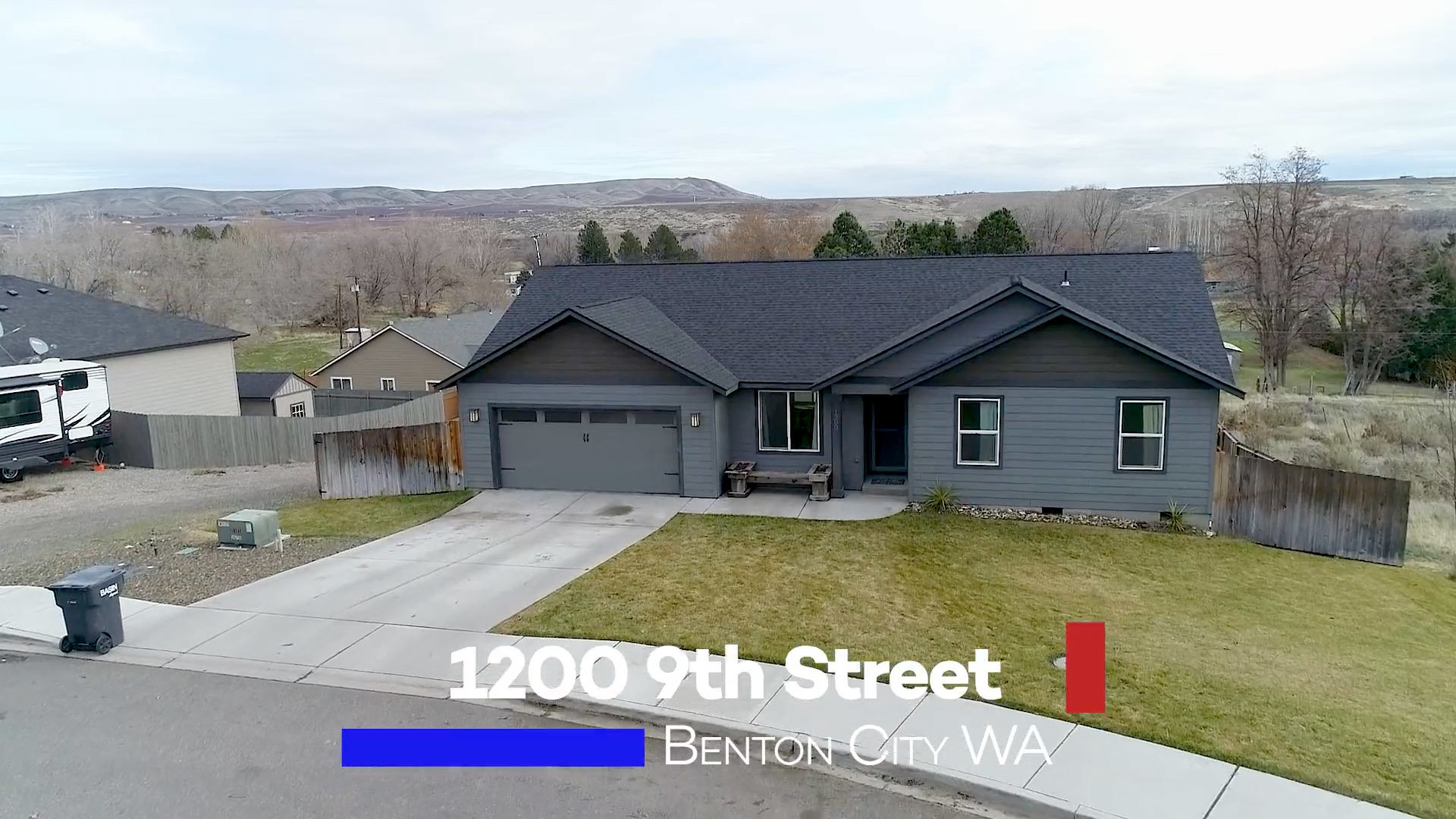 1200 9th Street Benton City Wa Home for Sale